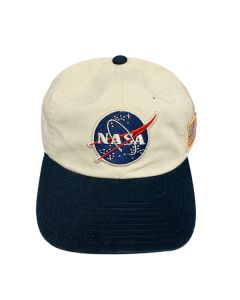 Adult Twill NASA Meatball Logo Cap