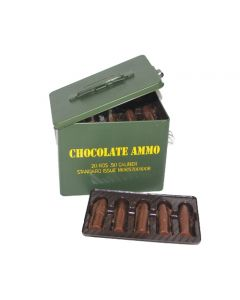 Chocolate Ammo Tin