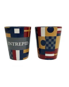 Intrepid Nautical Signal Flags Shot Glass