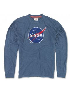 Adult NASA Patch Long Sleeve T-Shirt