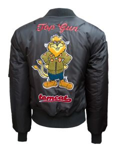"Adult Top Gun MA-I ""Tomcat"" Nylon Bomber Jacket"