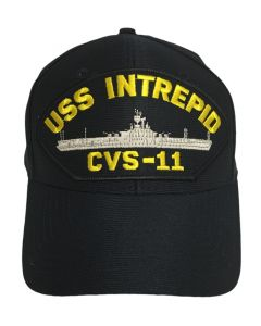 USS Intrepid CVS-11 Patch Cap