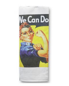 Rosie the Riveter Tea Towel