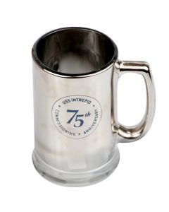 USS Intrepid 75th Anniversary Stein