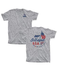 Adult USS Intrepid 75th Anniversary Tee