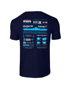 Adult Intrepid Infographic Tee