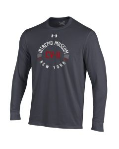 Adult UA Tech USS Intrepid Museum NY CV-11 Long Sleeve