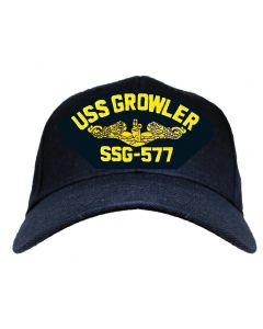 Adult USS Growler SSG-557 Cap