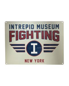 Intrepid Museum Fighting I New York Metal Sign