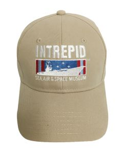 Intrepid Museum Khaki Cap