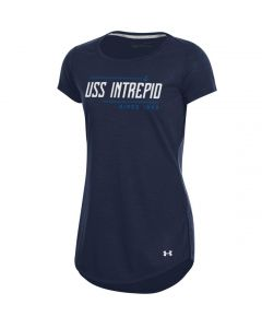 Ladies UA Tech™ USS Intrepid Since 1943 Crew Shirt