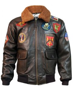 Men's G-1 Flight Jacket by Top Gun