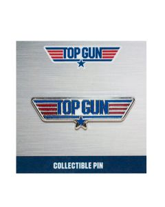 Top Gun Logo Collectible Pin