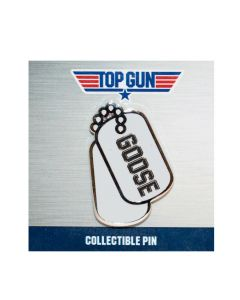 Top Gun ''Goose'' Dog Tags Collectible Pin