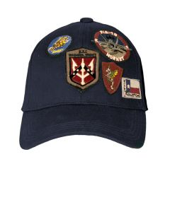 Top Gun Assorted Patches Cap