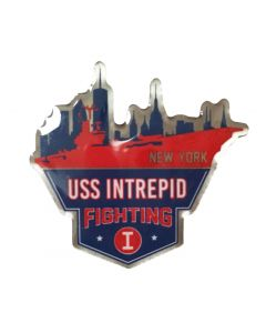 USS Intrepid Fighting I Lapel Pin